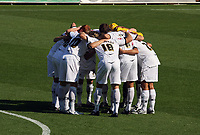 Pictured: Swansea City Player huddle before kick off<br /> Coca Cola Championship, Swansea City FC v Burnley at the Liberty Stadium, Swansea. Saturday 20 September 2008.