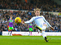 Leeds United's Ezgjan&nbsp;Alioski shoots at goal<br /> <br /> Photographer Alex Dodd/CameraSport<br /> <br /> The EFL Sky Bet Championship - Leeds United v Bristol City - Saturday 24th November 2018 - Elland Road - Leeds<br /> <br /> World Copyright &copy; 2018 CameraSport. All rights reserved. 43 Linden Ave. Countesthorpe. Leicester. England. LE8 5PG - Tel: +44 (0) 116 277 4147 - admin@camerasport.com - www.camerasport.com