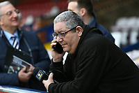 Ian Abrahams (Moose) from talk sport during AFC Wimbledon vs Millwall, Emirates FA Cup Football at the Cherry Red Records Stadium on 16th February 2019