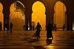 A main plaza at Mosque Hassan II sits on Casablanca's Atlantic coast. The Mosque, third largest in the world, has a green laser beam that points to Mecca and can be seen on clear nights.<br /> <br /> Ben Sklar for the New York Times
