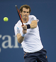 Andy Murray..Tennis - US Open - Grand Slam -  New York 2012 -  Flushing Meadows - New York - USA - Monday 3rd September  2012. .© AMN Images, 30, Cleveland Street, London, W1T 4JD.Tel - +44 20 7907 6387.mfrey@advantagemedianet.com.www.amnimages.photoshelter.com.www.advantagemedianet.com.www.tennishead.net
