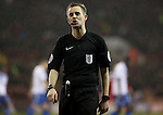 Referee Ross Joyce during the English Football League One match at Bramall Lane, Sheffield. Picture date: November 22nd, 2016. Pic Jamie Tyerman/Sportimage