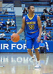 January 14, 2017:  San Jose State guard, Isaac Thornton #20, during the NCAA basketball game between the San Jose State Spartans and the Air Force Academy Falcons, Clune Arena, U.S. Air Force Academy, Colorado Springs, Colorado.  San Jose State defeats Air Force 89-85.