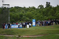 Tony Romo (a) (USA) watches his tee shot on 12 during round 2 of the AT&T Byron Nelson, Trinity Forest Golf Club, Dallas, Texas, USA. 5/10/2019.<br /> Picture: Golffile | Ken Murray<br /> <br /> <br /> All photo usage must carry mandatory copyright credit (© Golffile | Ken Murray)
