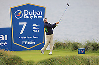 Sam Brazel (AUS) on the 7th tee during Round 2 of the Irish Open at LaHinch Golf Club, LaHinch, Co. Clare on Friday 5th July 2019.<br /> Picture:  Thos Caffrey / Golffile<br /> <br /> All photos usage must carry mandatory copyright credit (© Golffile | Thos Caffrey)