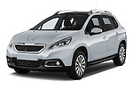 Front three quarter view of a 2013 Peugeot 2008 Active SUV