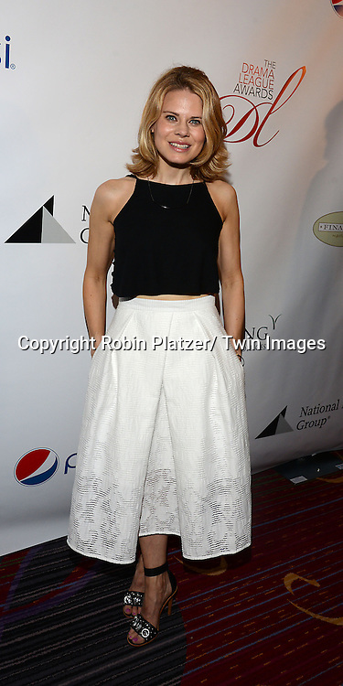 Celia Keenan-Bolger attends the 80th Annual Drama League Awards Ceremony and Luncheon on May 16, 2014 at the Marriot Marquis Hotel in New York City, New York, USA.