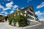 Kulturhaus Rössle, Mauren, Rheintal, Rhine-valley, Liechtenstein.