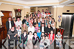 CROWD: A great crowd gathered at the Abbey Gate Hotel, Tralee, on Friday night to celebrate with Josephine Lynch, Marian Park (seated 3rd from right) at her 40th birthday party..