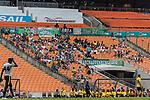 06.01.2019, FNB Stadion/Soccer City, Nasrec, Johannesburg, RSA, FSP, SV Werder Bremen (GER) vs Kaizer Chiefs (ZA)<br /> <br /> im Bild / picture shows <br /> Fans auf Trib&uuml;ne, <br /> <br /> Foto &copy; nordphoto / Ewert