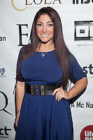 NEW YORK, NY - FEBRUARY 6: Deena Nicole Cortese attends EQ Enterprises presents the Official NY Fashion Week Kickoff Party® along with Instinct Magazine and Lifebeat, Music Fights HIV/AIDS on Wednesday February 6th, 2013 in New York City. © Diego Corredor/MediaPunch Inc. ..... /NortePhoto