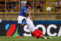 Moise Kean of Italy <br /> Bologna 19/06/2019 Stadio Renato Dall'Ara  <br /> Football UEFA Under 21 Championship Italy 2019<br /> Group Stage - Final Tournament Group A<br /> Italy - Poland <br /> Photo Cesare Purini / Insidefoto