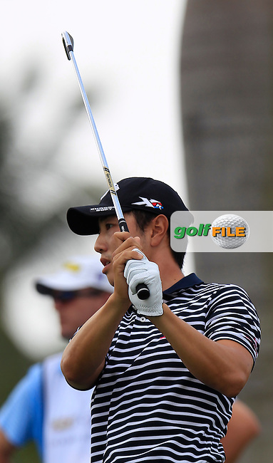 Sangmoon Bae (KOR) during the 3rd round at the WGC Cadillac Championship, Blue Monster, Trump National Doral, Doral, Florida, USA<br /> Picture: Fran Caffrey / Golffile