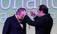 SAO PAULO, SP, 25 DE MARCO 2013 -  HOMENAGEM MICHEL TEMER COMUNIDADE ARABE -   Vice presidente da República Michel Temer, durante jantar em sua homenagem no Dia Nacional da Comunidade Arabe no Esporte Clube na região sul da capital paulista, nesta segunda-feira, 25. (FOTO: VANESSA CARVALHO / BRAZIL PHOTO PRESS).