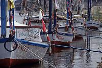 Afrique/Egypte/Louxor/Ancienne Thèbes: Felouques au bord du Nil