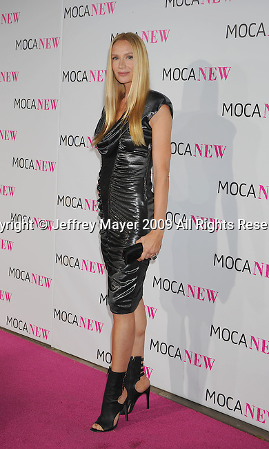 LOS ANGELES, CA. - November 14: Actress Kelly Lynch arrives at the MOCA NEW 30th anniversary gala held at MOCA on November 14, 2009 in Los Angeles, California.