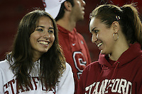 16 September 2006: Student fans during Stanford's 37-9 loss to Navy during the grand opening of the new Stanford Stadium in Stanford, CA.