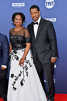 LOS ANGELES, USA. June 07, 2019: Denzel Washington & Pauletta Washington at the AFI Life Achievement Award Gala.<br /> Picture: Paul Smith/Featureflash