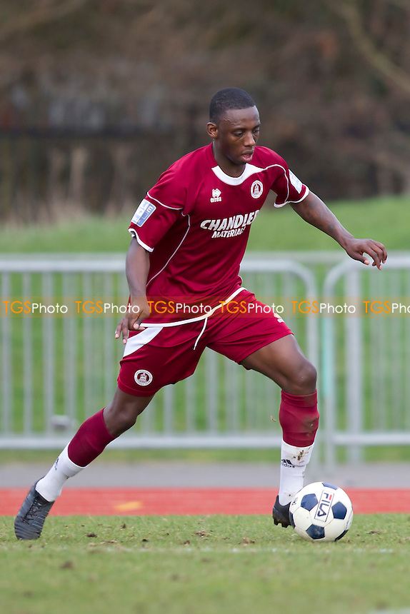 Warren Whiteley of Chelmsford City FC - Chelmsford City vs Welling United - Blue Square Conference South Football at Melbourne Park Stadium - 10/03/12 - MANDATORY CREDIT: Ray Lawrence/TGSPHOTO - Self billing applies where appropriate - 0845 094 6026 - contact@tgsphoto.co.uk - NO UNPAID USE.
