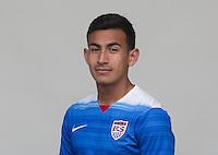 Manhattan Beach, CA - Tuesday, April 21, 2015: U.S. Men's U-23 head shots.