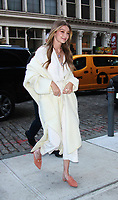 NEW YORK, NY - NOVEMBER 15: Gigi Hadid seen arriving to her residence on November 15, 2017 in New York City. Credit: RW/MediaPunch /NortePhoto.com