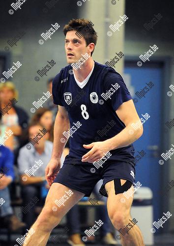 2014-08-30 / Volleybal / seizoen 2014-2015 / Topvolley Antwerpen / Marien MOREAU<br /><br />Foto: Mpics.be