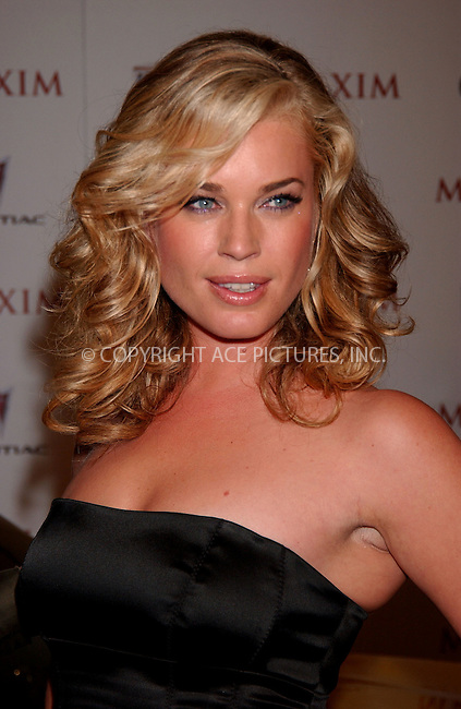 WWW.ACEPIXS.COM . . . . .....May 16, 2007. New York City,....Actress Rebecca Romijn attends Maxim's 8th Annual Hot 100 Party held at the Gansevoort Hotel...  ....Please byline: Kristin Callahan - ACEPIXS.COM..... *** ***..Ace Pictures, Inc:  ..Philip Vaughan (646) 769 0430..e-mail: info@acepixs.com..web: http://www.acepixs.com