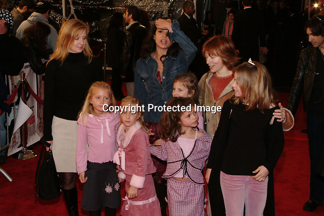 Frances Fisher &amp; Family<br />&quot;Cheaper by the Dozen&quot; Film Premiere - Los Angeles<br />Mann's Grauman's Chinese Theatre<br />Hollywood, CA, USA<br />Sunday, December 14, 2003<br />Photo By Celebrityvibe.com/Photovibe.com
