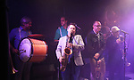 Supertone Brass Band performs at the New York Hot Jazz Festival own September 30, 2018 at The McKittrick Hotel in New York City.