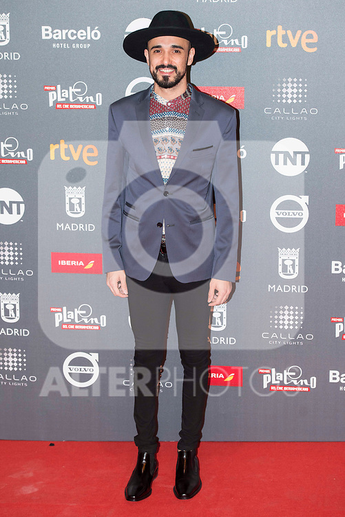 Abel Pintos attends to welcome party photocall of Platino Awards 2017 at Callao Cinemas in Madrid, July 20, 2017. Spain.<br /> (ALTERPHOTOS/BorjaB.Hojas)
