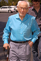 "ELI WALLACH ATTENDS READING AND SIGNING COPIES OF HIS MEMOIR, ""THE GOOD, THE BAD AND ME"" AT MCINTYRE'S FINE BOOKS IN PITTSBORO, NC ON 04-30-2007.  PHOTO BY JONATHAN GREEN ©2007"