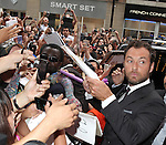 Jude Law attending the The 2012 Toronto International Film Festival.Red Carpet Arrivals for 'Anna Karenina' at the Elgin Theatre in Toronto on 9/7/2012