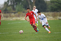 Westfield, IN - October 15, 2016: The U.S. Soccer Development Academy 2016 U-13/U-14 Central Regional Showcase at Grand Park.