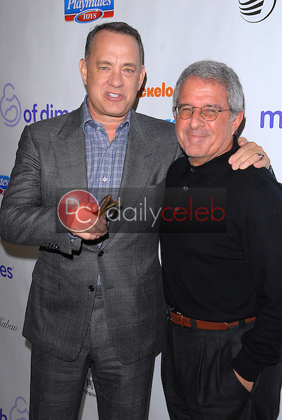 Tom Hanks, Ron Meyer<br /> at the 2012 March Of Dimes Celebration Of Babies, Beverly Hills Hotel, Beverly Hills, CA 12-07-12<br /> David Edwards/DailyCeleb.com 818-249-4998