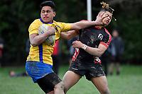 20180907 Hurricanes U15 Rugby - Manukura v Rongotai College