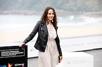 Actress Ingrid Isensee presents the film 'La Voz en Off' during the 62st San Sebastian Film Festival in San Sebastian, Spain. September 23, 2014. (ALTERPHOTOS/Caro Marin)