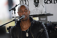 November 16, 2013  (Washington, DC)  Grammy nominee and R&B entertainer Tank performs at the Gateway DC pavilion in the District of Columbia November 16, 2013.  (Photo by Don Baxter/Media Images International)