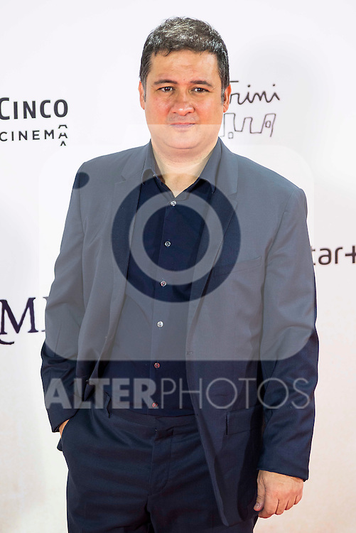 "Secun de la Rosa during the premiere of the spanish film ""Un Monstruo Viene a Verme"" of J.A. Bayona at Teatro Real in Madrid. September 26, 2016. (ALTERPHOTOS/Borja B.Hojas)"