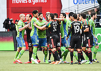 Seattle Sounders FC vs LA Galaxy, October 25, 2014