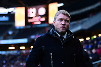 Grant McCann, manager of Peterborough during the Sky Bet League 1 match between MK Dons and Peterborough at stadium:mk, Milton Keynes, England on 30 December 2017. Photo by Bradley Collyer / PRiME Media Images.