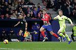 Club Atletico de Madrid's Antoine Griezmann (L) and Futbol Club Barcelona's Arthur Melo  during La Liga match. November 24,2018. (ALTERPHOTOS/Alconada)