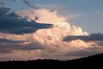 Cloudscape over White Pine County, Nev.