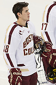 Michael Sit (BC - 18) - The Boston College Eagles defeated the visiting University of Massachusetts Lowell River Hawks 6-3 on Sunday, October 28, 2012, at Kelley Rink in Conte Forum in Chestnut Hill, Massachusetts.
