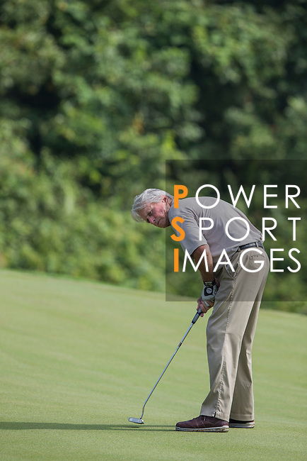Michael Douglas plays during the World Celebrity Pro-Am 2016 Mission Hills China Golf Tournament on 23 October 2016, in Haikou, Hainan province, China. Photo by Victor Fraile / Power Sport Images