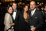 Elizabeth and Trey Henderson with Sonali and Steven Morris at the Discovery Green Gala at Discovery Green Park downtown Saturday Feb. 23,2008.(Dave Rossman/For the Chronicle)