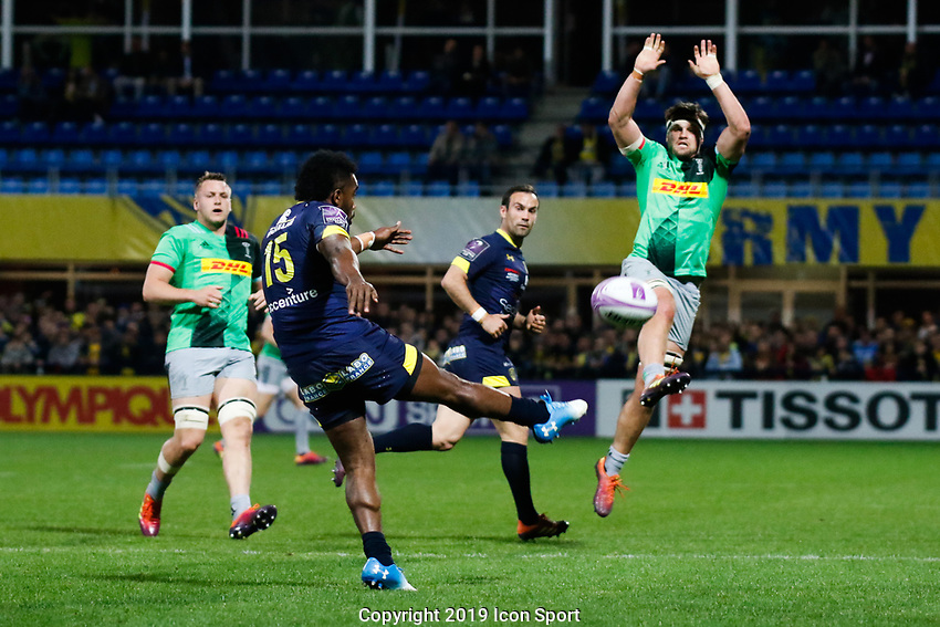 Setariki Tuicuvu of Clermont during the Challenge Cup semi final match between ASM Clermont and Harlequins on April 20, 2019 in Clermont-Ferrand, France. (Photo by Romain Biard/Icon Sport)