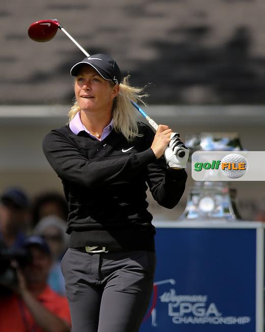 17 August 14 Norweigian Suzann Petterssen during Sunday's Final Round of The Wegman's LPGA Championship at The Monroe Golf Club in Pittsford, New York. (photo credit : kenneth e. dennis/kendennisphoto.com)
