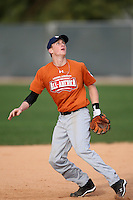January 17, 2010:  Hunter Hagler (Vidor, TX) of the Baseball Factory Texas Team during the 2010 Under Armour Pre-Season All-America Tournament at Kino Sports Complex in Tucson, AZ.  Photo By Mike Janes/Four Seam Images