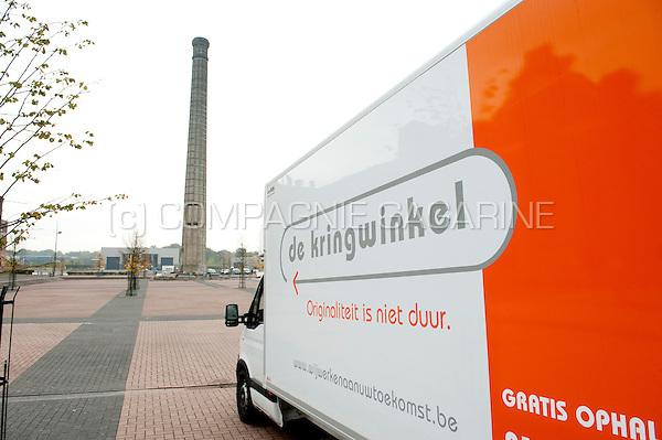 """The """"kringwinkel"""" second hand shop in Heusden-Zolder (Belgium, 23/10/2009)"""