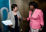120511: Ertharin COUSIN, WFP Executive Director, meets Kristalina GEORGIEVA, EU-Commissioner